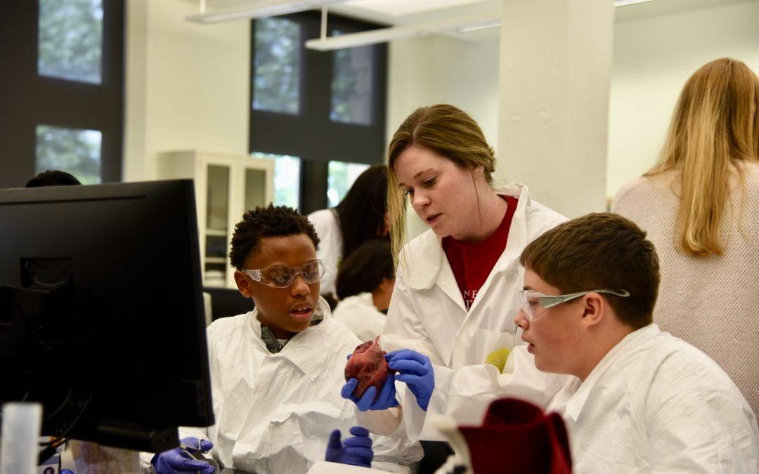 Southeast Arkansas Students Explore Biomedicine at Camp