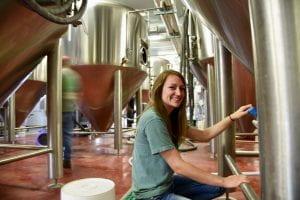 Lydia Huck at Core Brewing