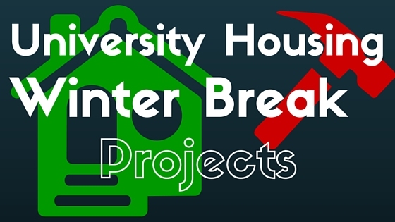 What's Happening: Winter Break Projects in the Halls