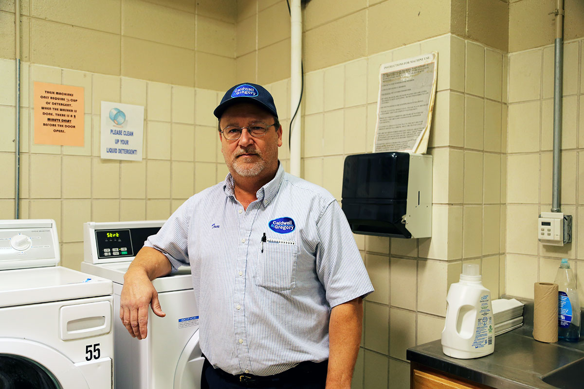 Laundry Services Upgraded With New Tech and Equipment (and Tom)