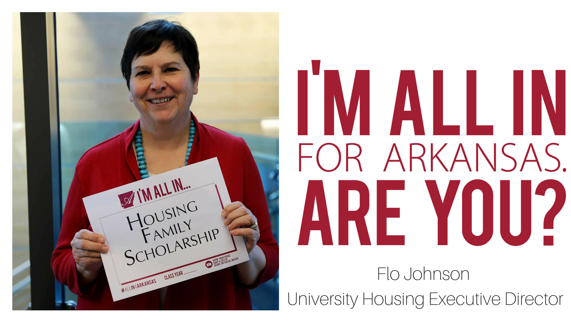 Housing Joins All in for Arkansas to Establish Family Scholarship