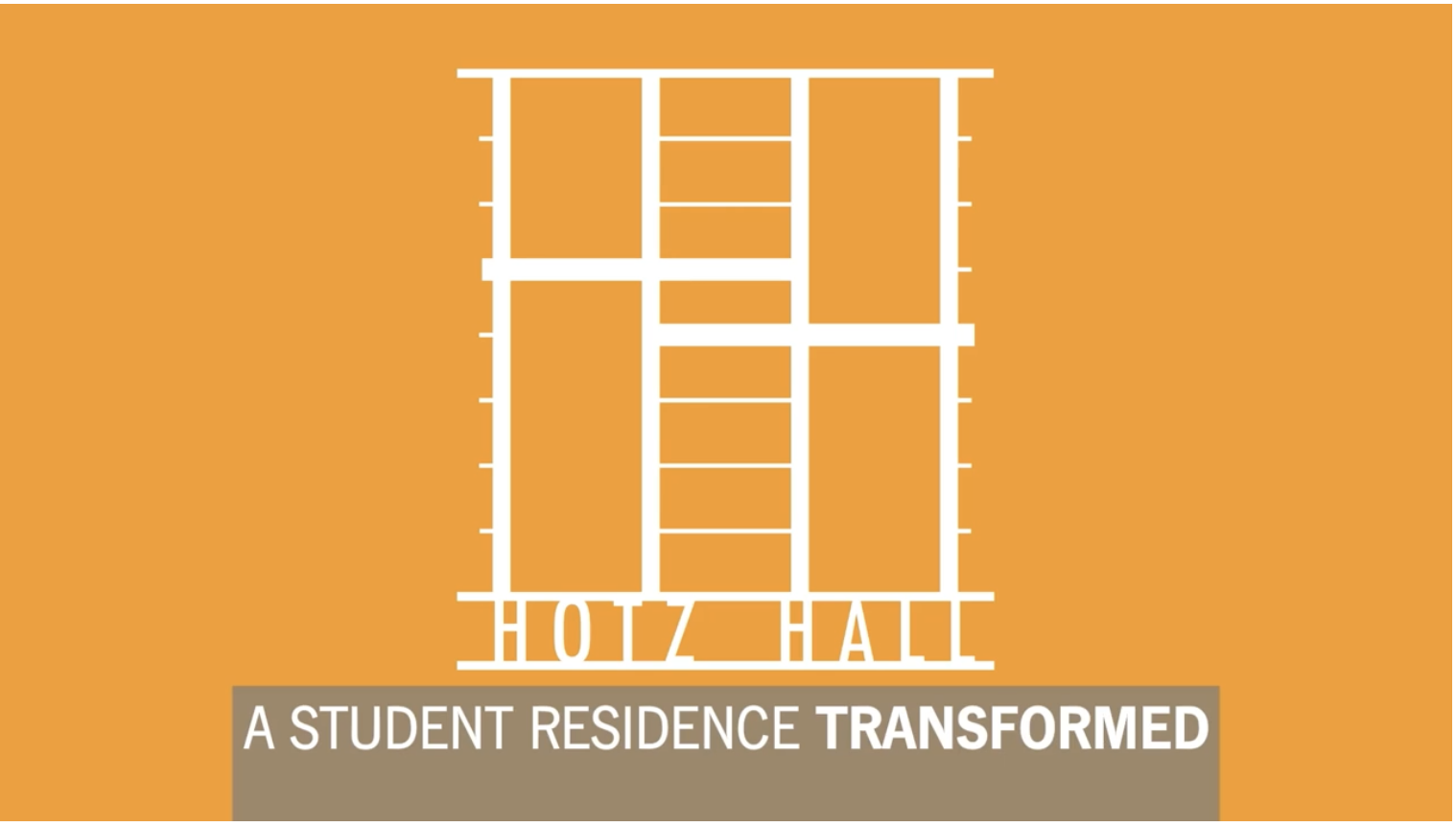 An Honor to Live There | Hotz Hall Renovations