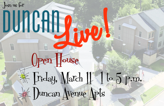 Come Down Friday for the Duncan Live! Open House