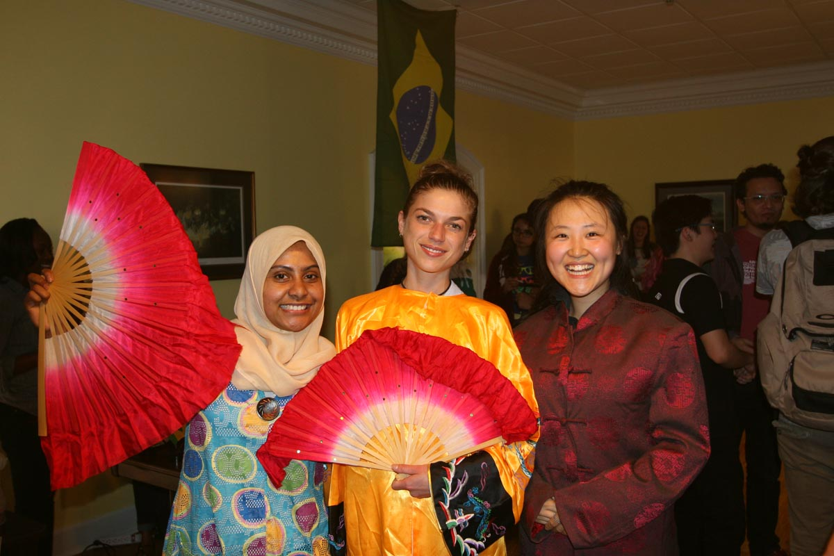 Night Market Brings International Flavors to Holcombe Hall