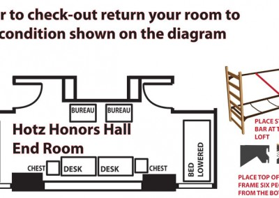 Hotz Hall - End Room
