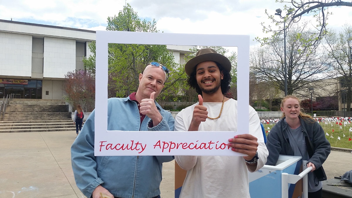 Housing Celebrates Faculty With Food, Fun and Fellowship