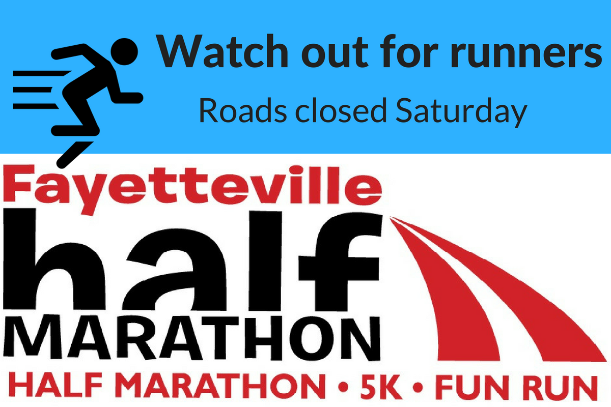 Expect Road Closures During Saturday's Half Marathon