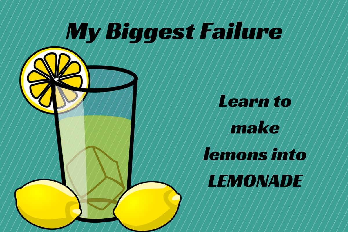 Find Out How Failure Leads to Success at the My Biggest Failure Event Feb. 8
