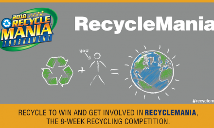 Spring 2018 RecycleMania Competition Kicks Off