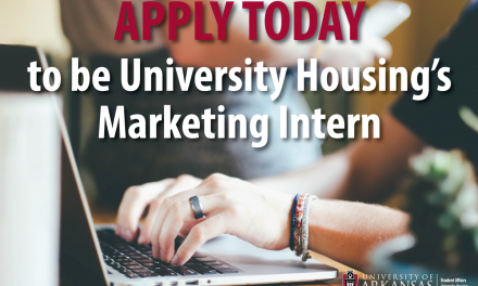 University Housing is Looking for a Summer Marketing Intern