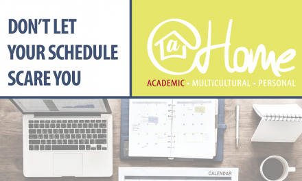 Don't Let Your Schedule Scare You