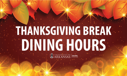 DINING HALLS HOURS OF OPERATION DURING THANKSGIVING BREAK