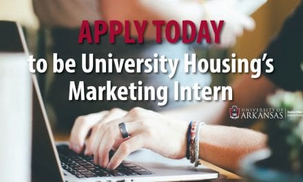 University Housing is looking for a Marketing Intern for Summer 2019