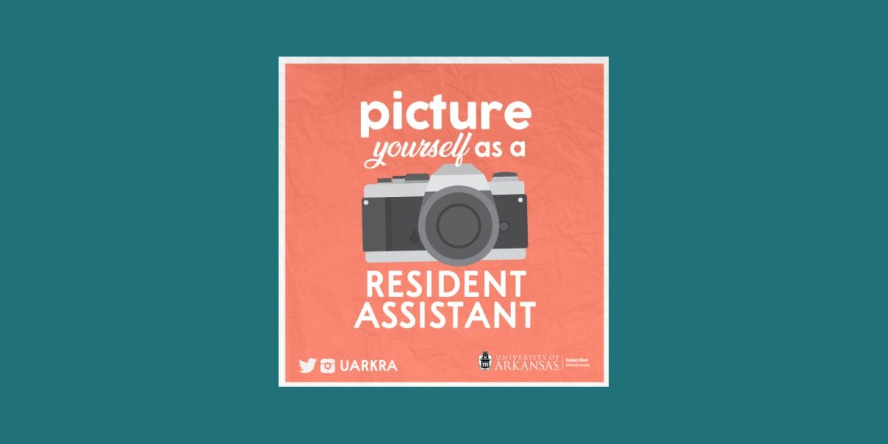 Picture Yourself as a Resident Assistant