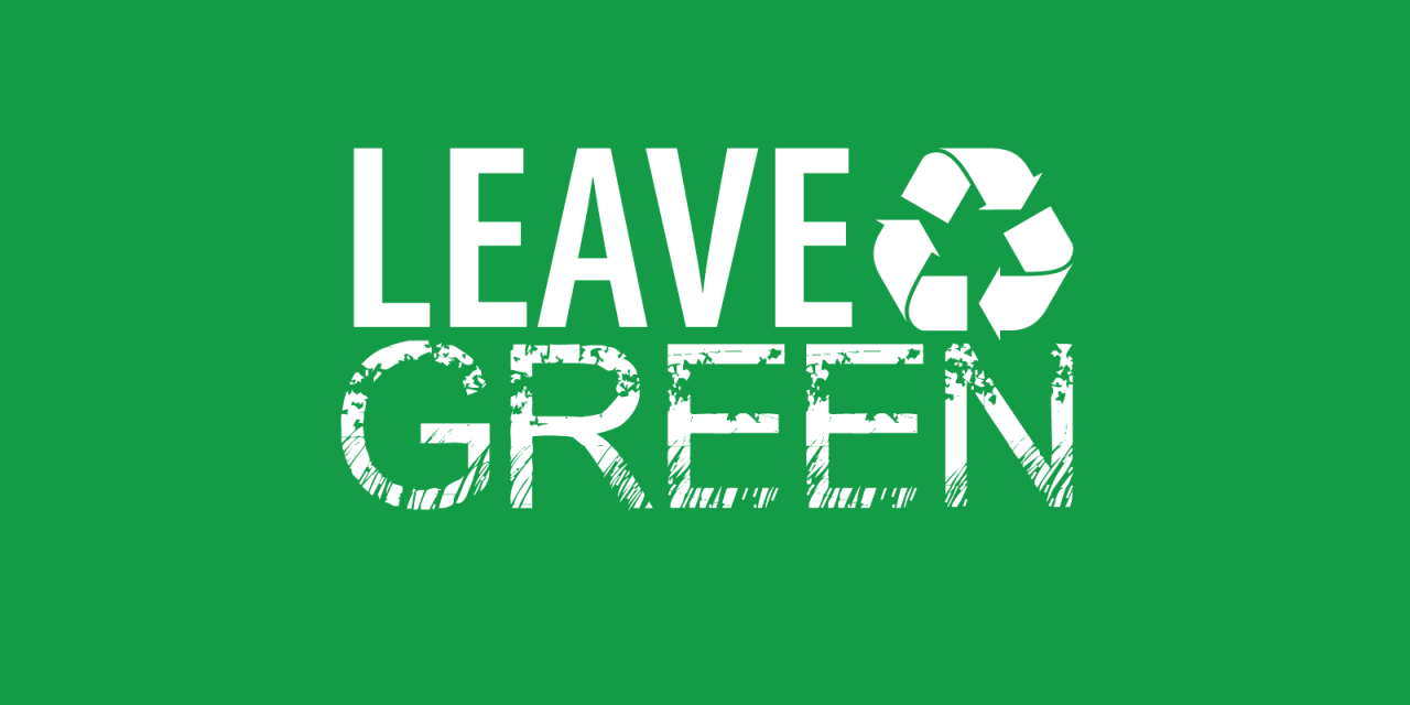 Leave Green Application Opens to Community Charities for Move-out 2019