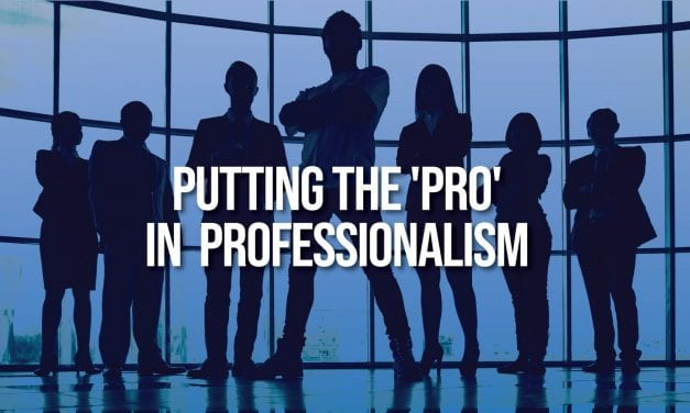 Putting the 'Pro' in Professionalism for College and Beyond
