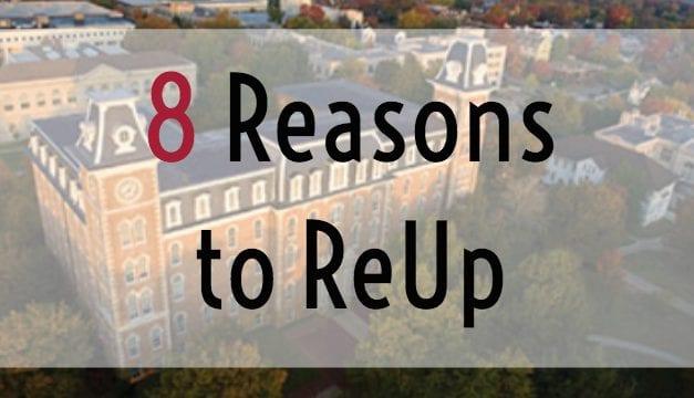 Reasons to ReUp