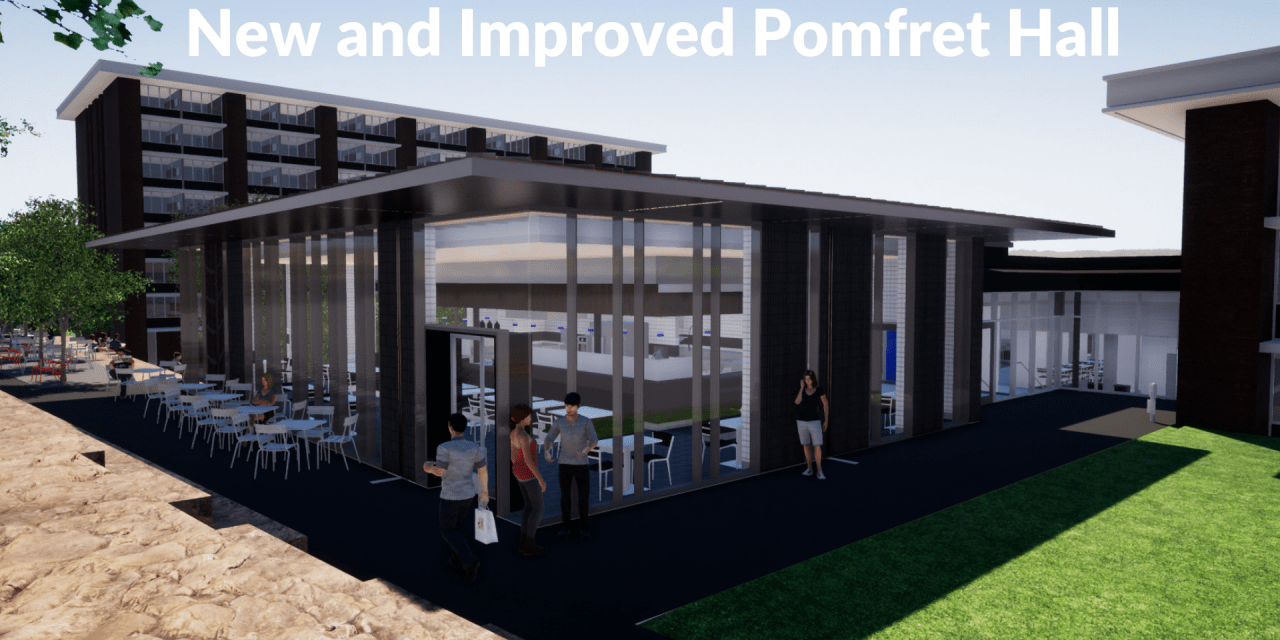 Pomfret Hall Renovations For Fall 2019