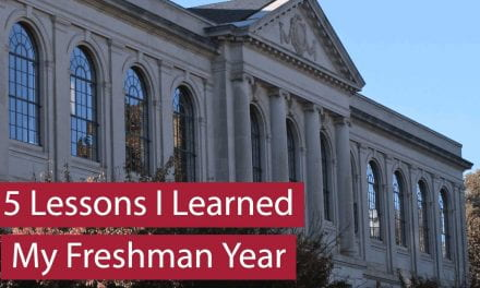 5 Lessons I Learned My Freshman Year of College