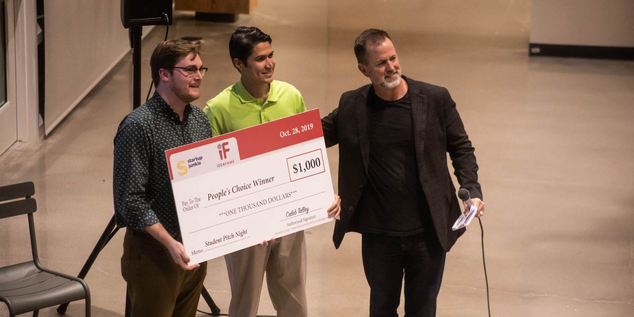 Students Pitch Business Ideas at Startup Junkie's IdeaFame Event