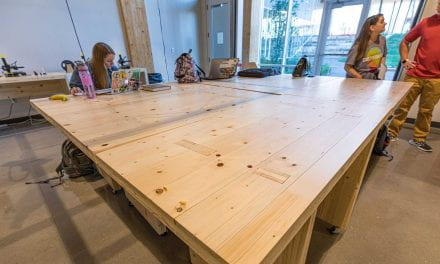 Adohi Uses 'Throw Away' Material to Build Tables