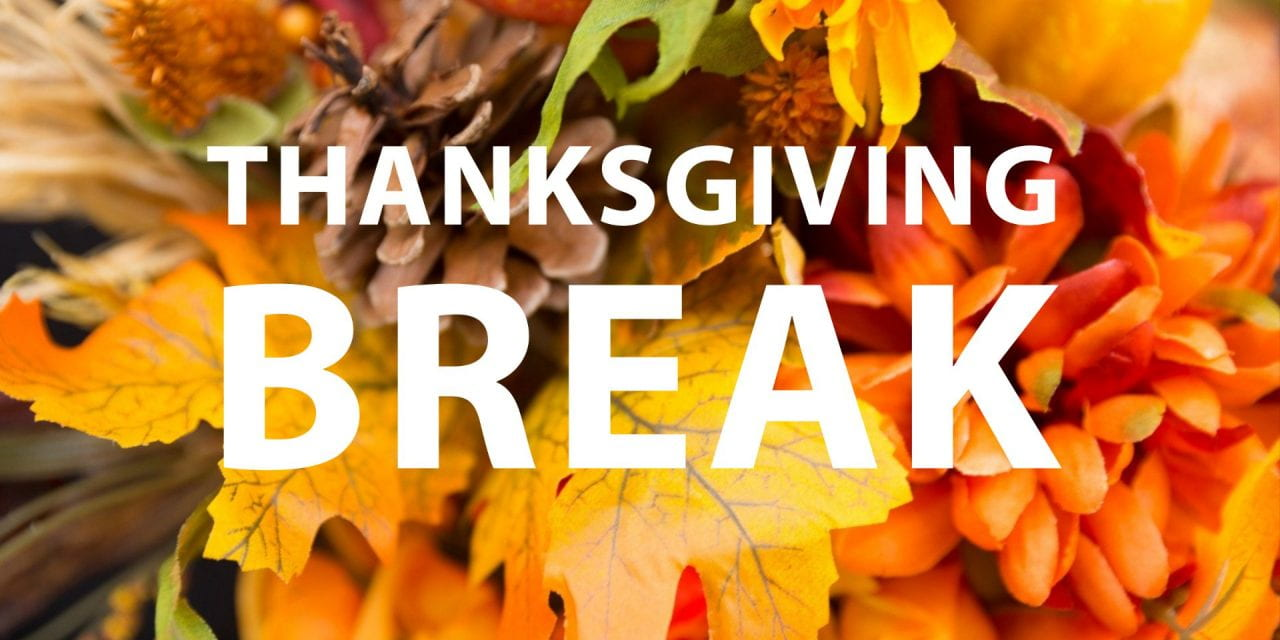 Thanksgiving Break Information and Dining Hours | #UARKHome