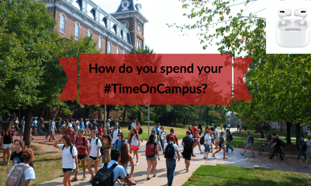 Win AirPods By Posting How You Spend Your #TimeOnCampus