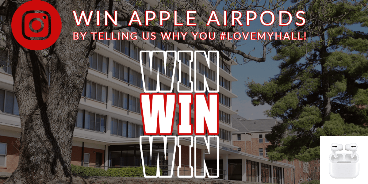 Win Apple AirPods By Telling Us Why You #LoveMyHall