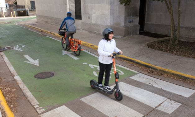 Scoot Through Campus: New E-Scooter Safety Tips