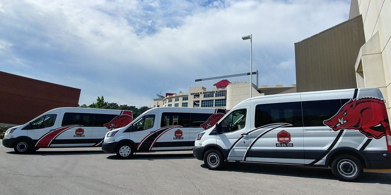 Safe Ride Shuttles On-campus Students to Mail and Dining Services