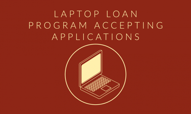 Laptop Loan Program Accepting Applications