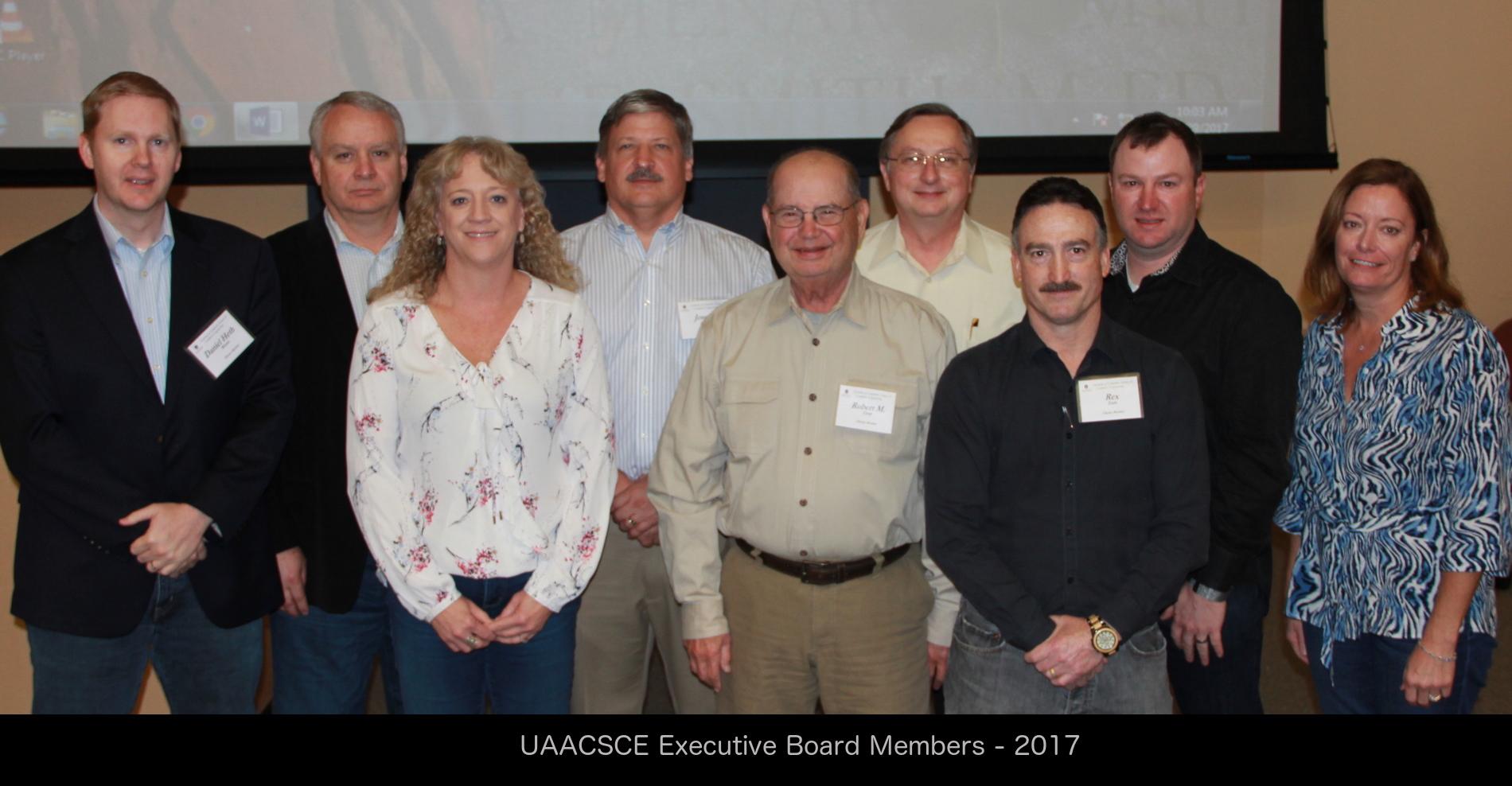 UAACSCE Executive Board
