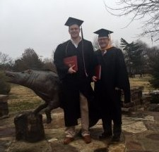 Father and son graduate from U of A on same day