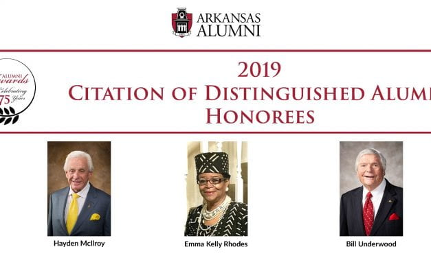 2019 Citation of Distinguished Alumni