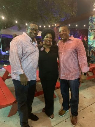 Black Alumni Society Mingle Event during the Southwest Classic 2019 weekend.