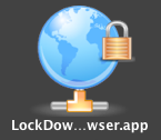 Lockdown Icon on Apple