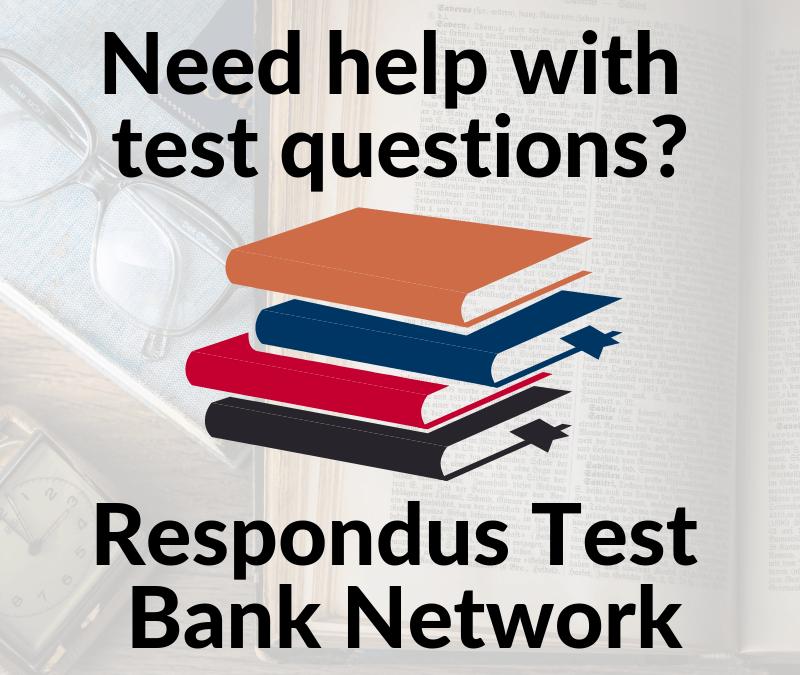 Respondus Test Bank Network