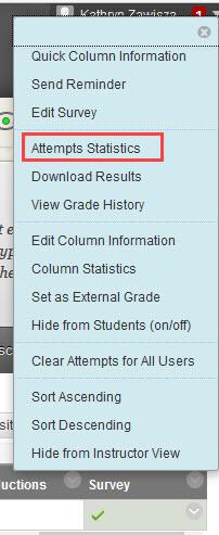 click attempts statistics