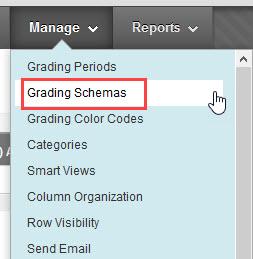 click grading schemas