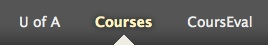 Click on Courses