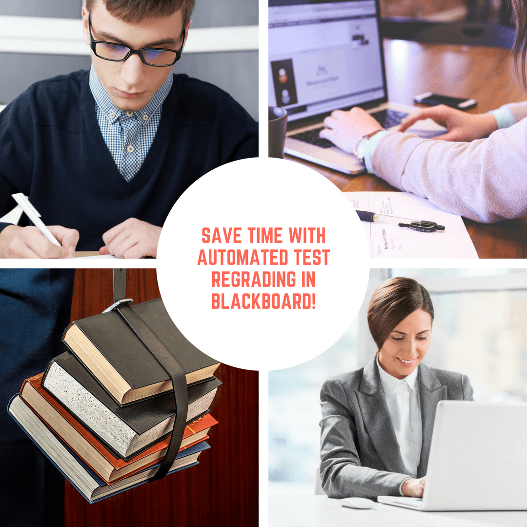 Blackboard: Automated Test and Quiz Regrading