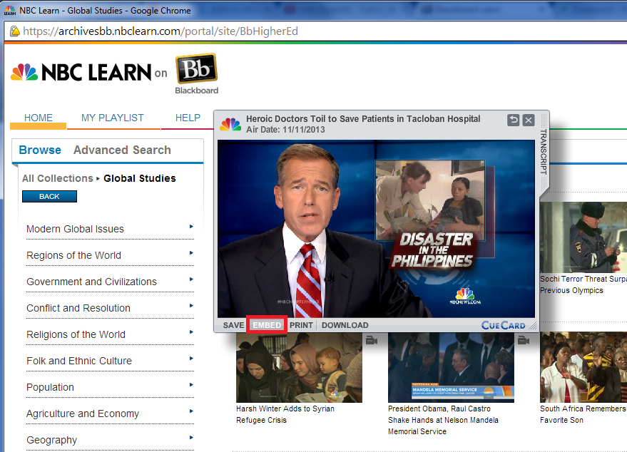 NBC learn Embed
