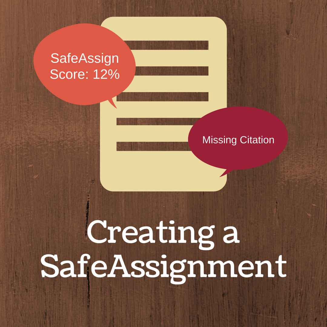 Creating a SafeAssignment