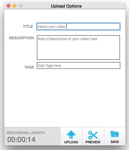 Add metadata to video