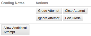 View Grade Details Options