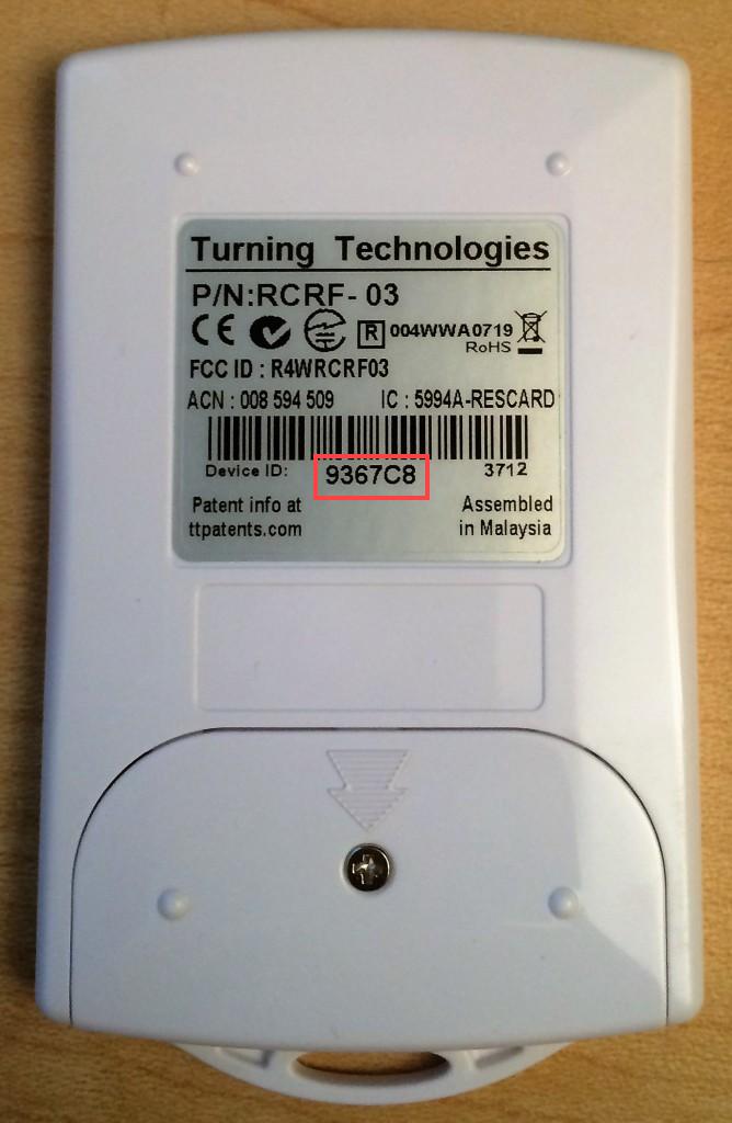Device ID example
