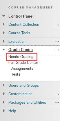 click needs grading