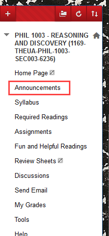 Click announcements