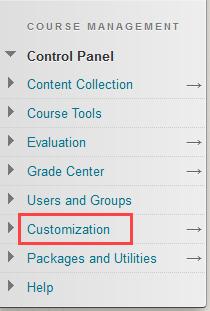 Click customization
