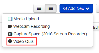 select video quiz